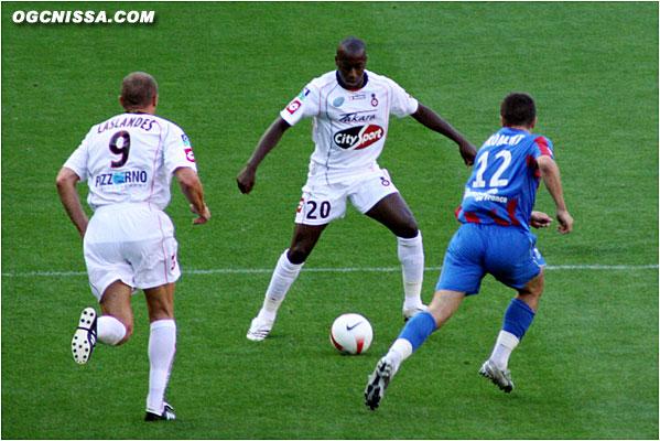 Habib Bamogo, pour son première match sous les couleurs niçoises