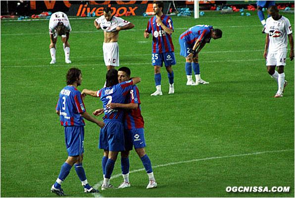 Victoire 1 à 0 du Stade Malherbe de Caen