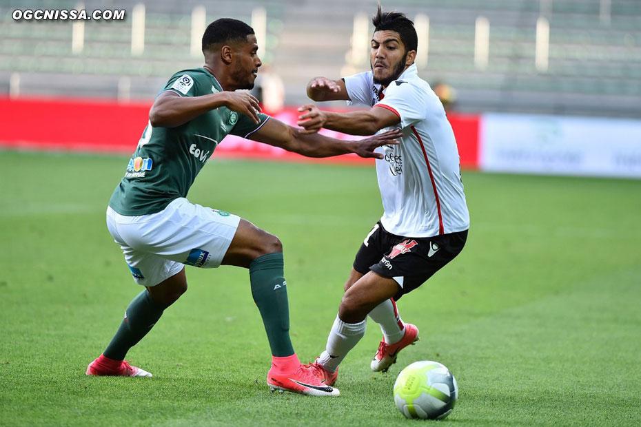 Bassem Srarfi pour sa première titularisation en L1
