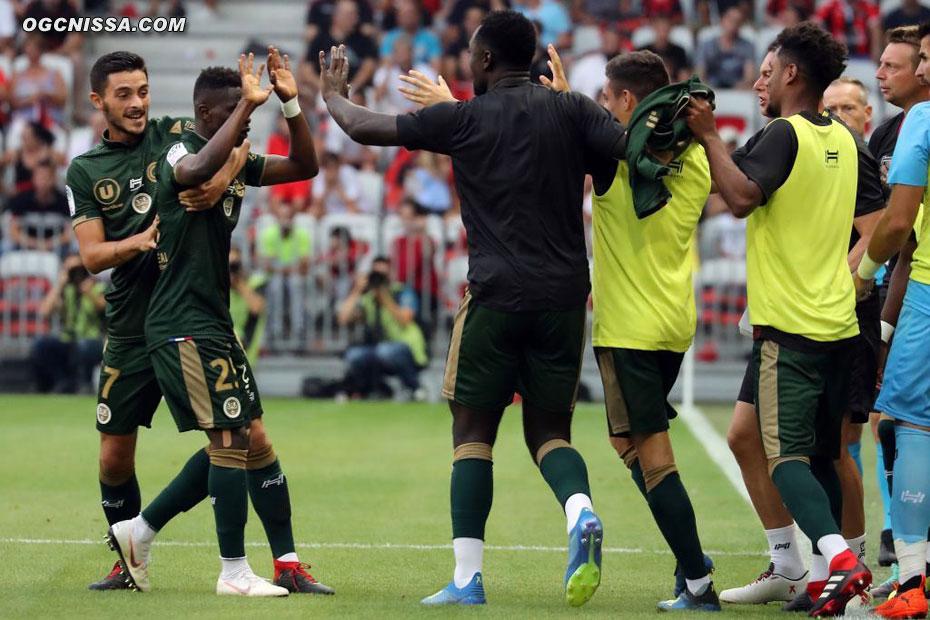 Reims ouvre rapidement le score