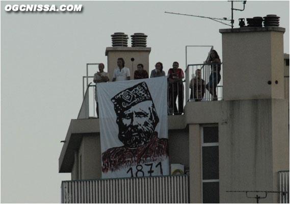 Voile en l'honneur de Giuseppe Garibaldi