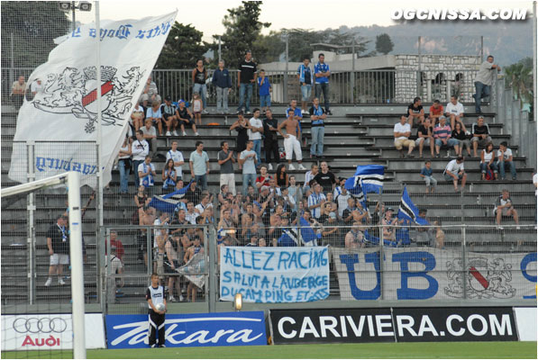 Les supporters strasbourgeois