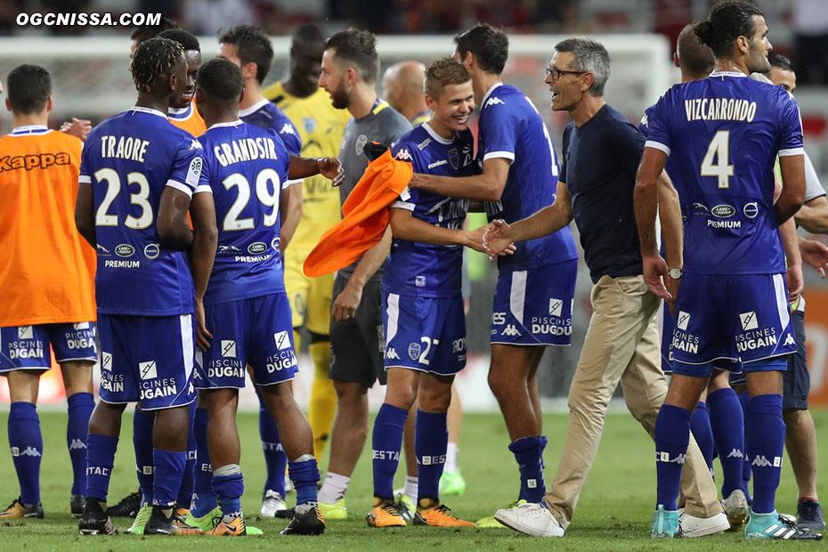 C'est terminé. Deuxième défaite en deux match de Ligue 1 pour Nice, qui fait un très mauvais début de championnat.