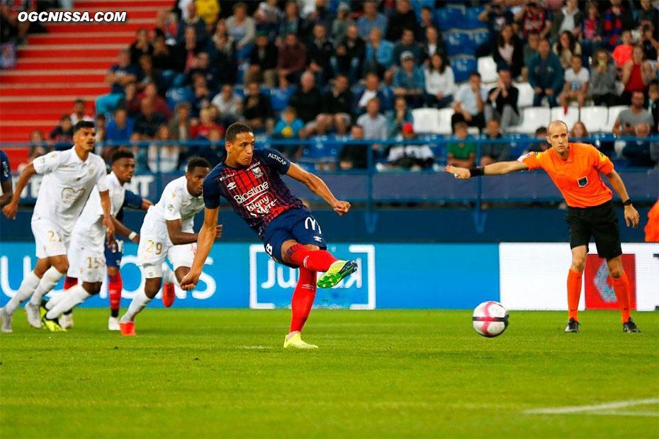But sur penalty pour Caen