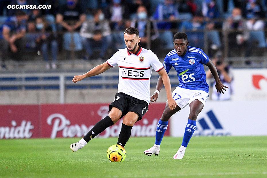 Amine Gouiri titulaire en attaque