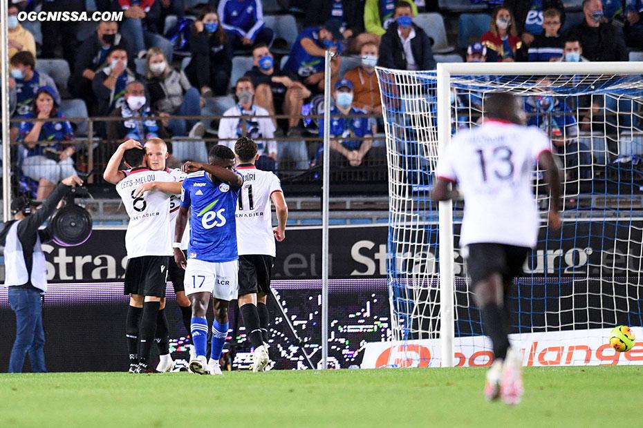Kasper Dolberg ouvre le score