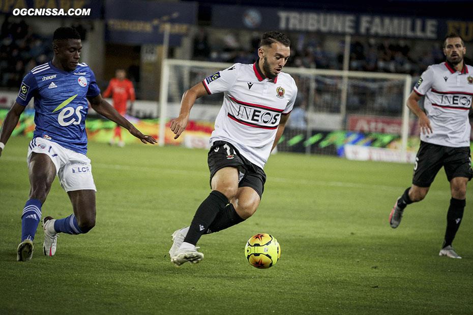 Amine Gouiri et les Aiglons gèrent bien la fin de match
