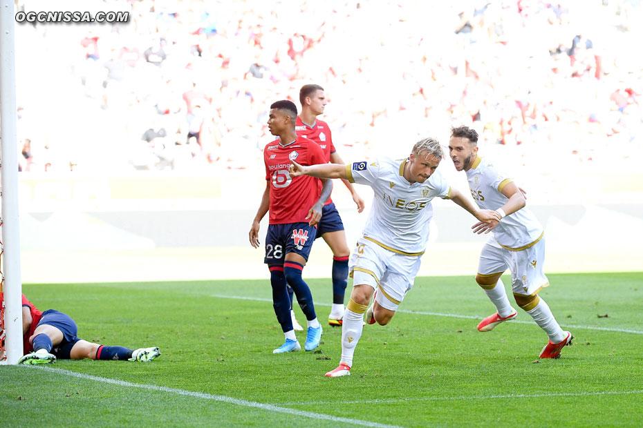 Kasper Dolberg marque dès la première minute de jeu !