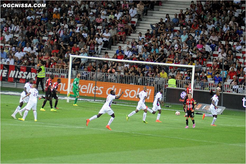 Bordeaux prend l'avantage en début de seconde période