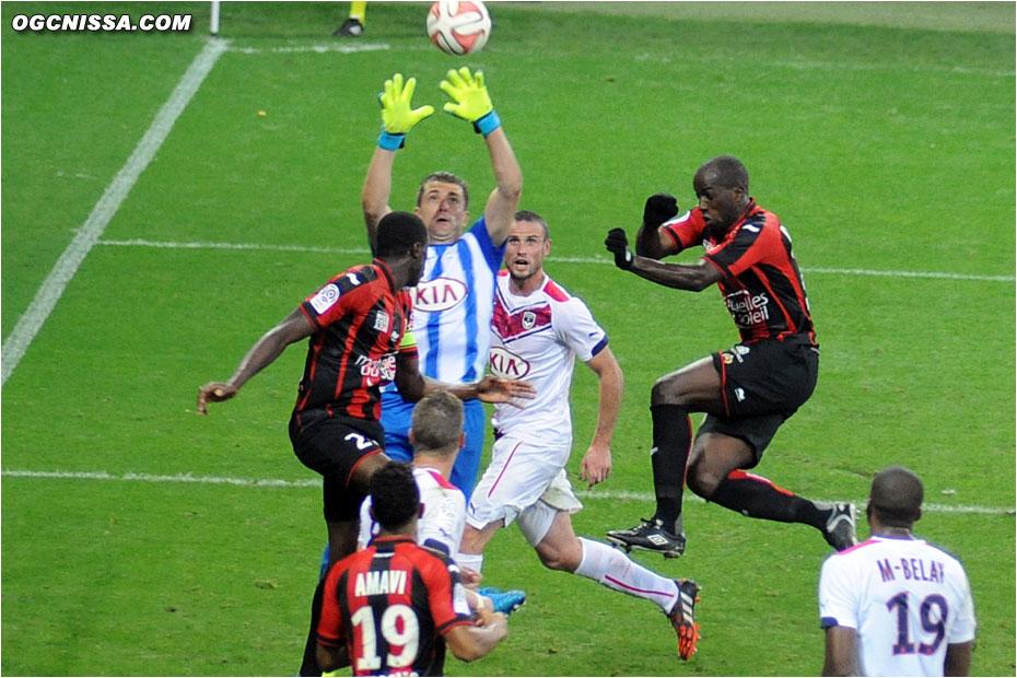 Souleymane Diawara aura fait une entrée pleine d'envie