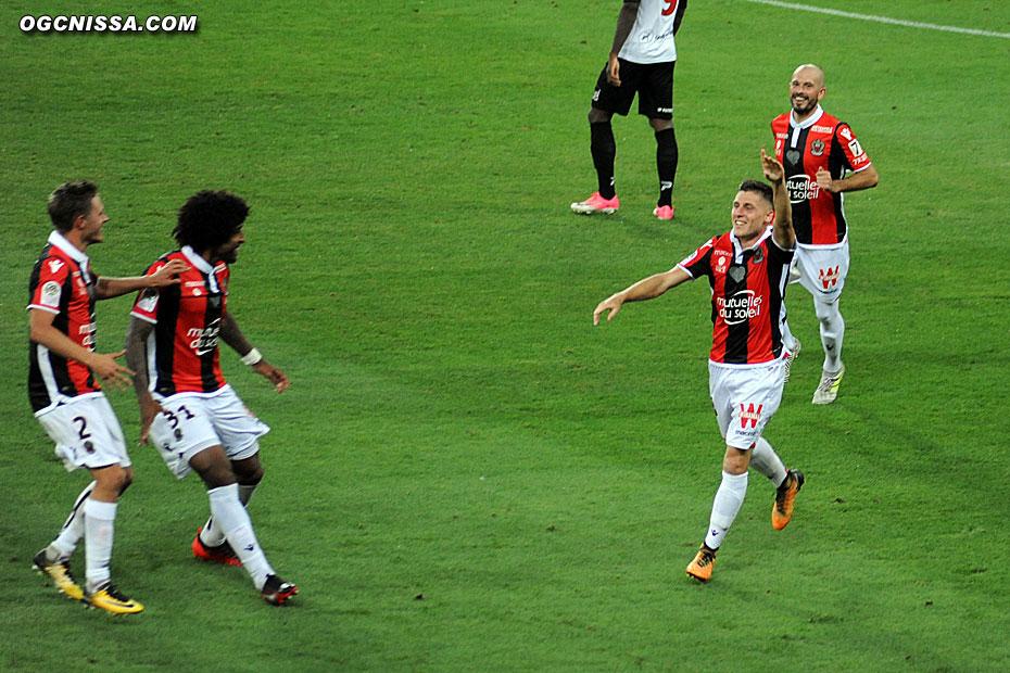 Le premier but de Remi Walter à Nice !