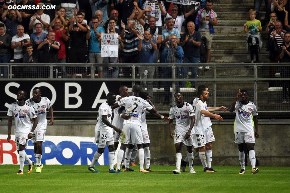 Amiens termine la rencontre en marquant un 3e but. Nice va devoir relevé la tête rapidement...