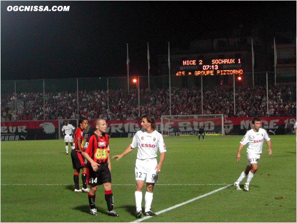 Les aiglons s'imposent 2 buts à 1, contre la nouvelle équipe de Romain Pitau.
