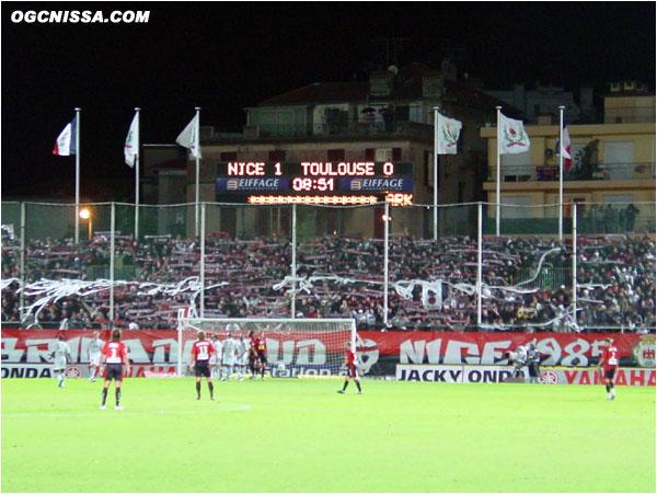 Courte victoire face à Toulouse. 1 but à 0, but de Jarjat, pour la plus grande joie de la BSN