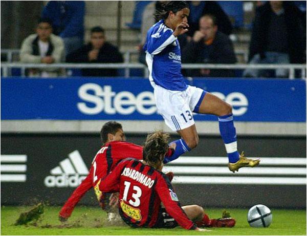 Défaite à Strasbourg sur le score de 3 buts à 1. Balmont sauvera l'honneur pour Nice.