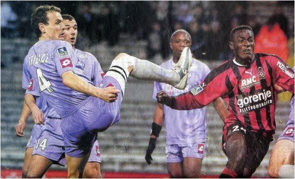 Nouvelle défaite en déplacement. 1 à 0 pour Toulouse.