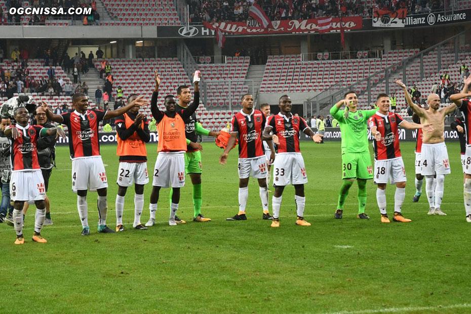 C'est terminé, Nice s'impose 4 buts à 0 et lance sa saison face à Monaco, comme l'année dernière