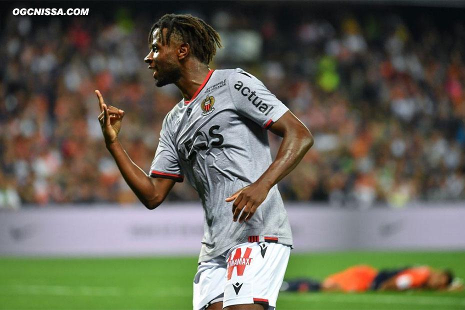 Adrien Tameze ouvre le score !