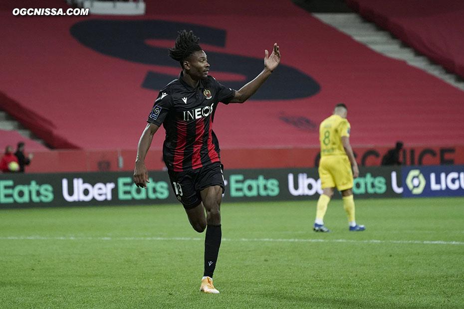 Le premier but de Khephren Thuram en Ligue 1