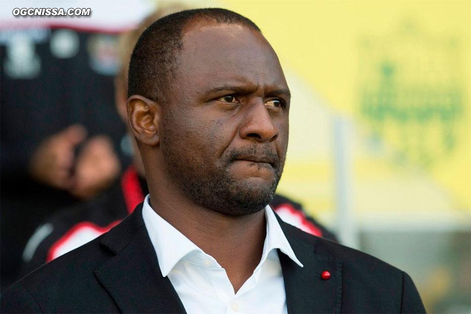 Le coach Patrick Vieira