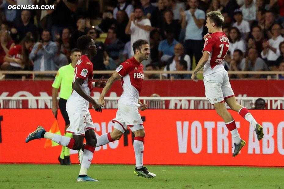 C'est Monaco qui ouvre le score