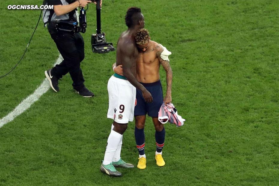 C'est terminé. Nice s'incline 3 à 0. Mario Balotelli et les siens ont maintenant rendez-vous avec le Toulouse FC vendredi prochain