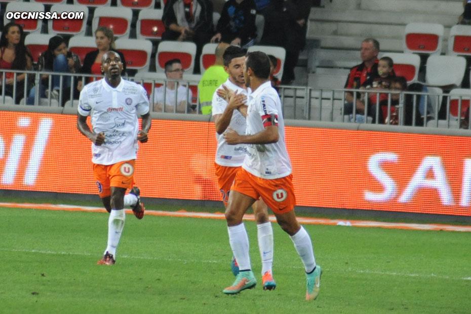 Montpellier de Souleymane Camara ouvre le score sur corner