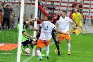 9e journ�e : Nice - Montpellier