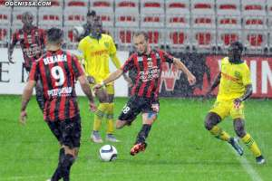 Nice - Nantes : l'album photos du match arr�t�