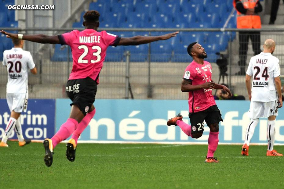 Montpellier ouvre le score contre le cours du jeu