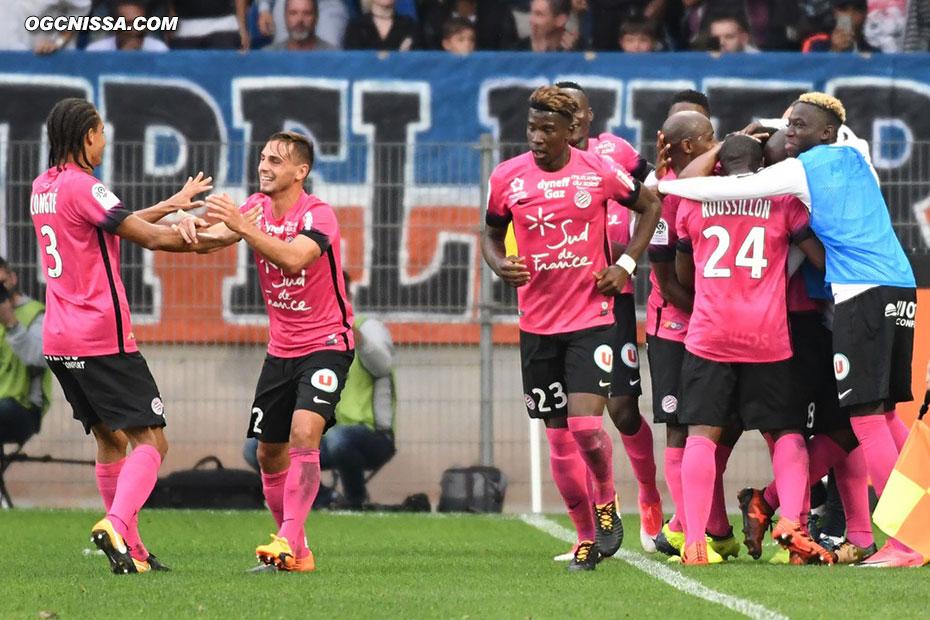Montpellier prend le large en contre