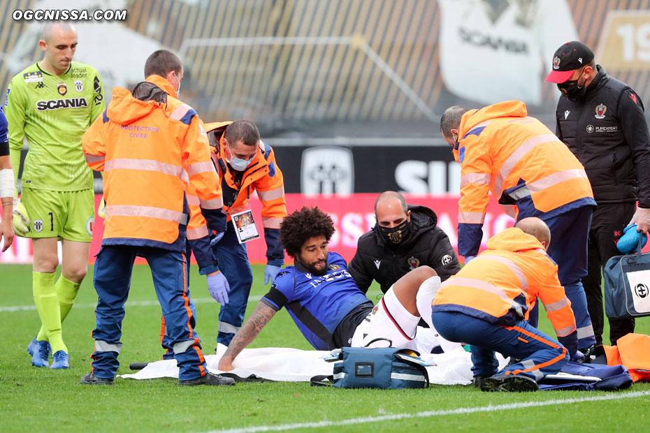 La blessure de Dante Bonfim semble sérieuse