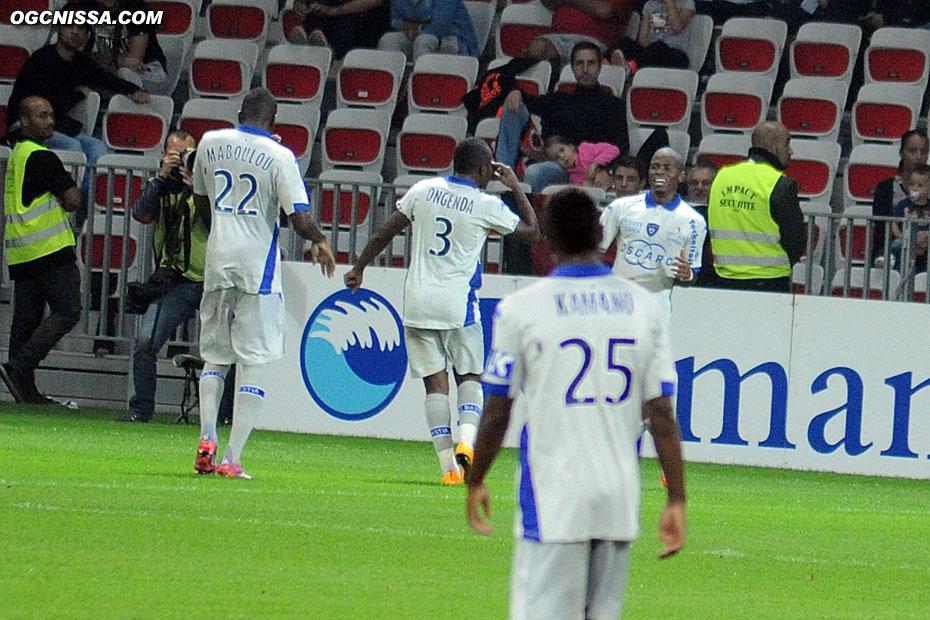 Sur une erreur défensive, Bastia ouvre le score en début de seconde période