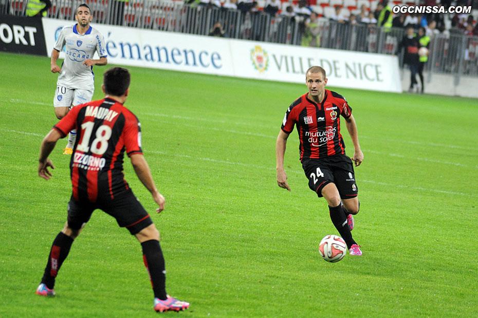 Mathieu Bodmer finira en pointe, sans succès