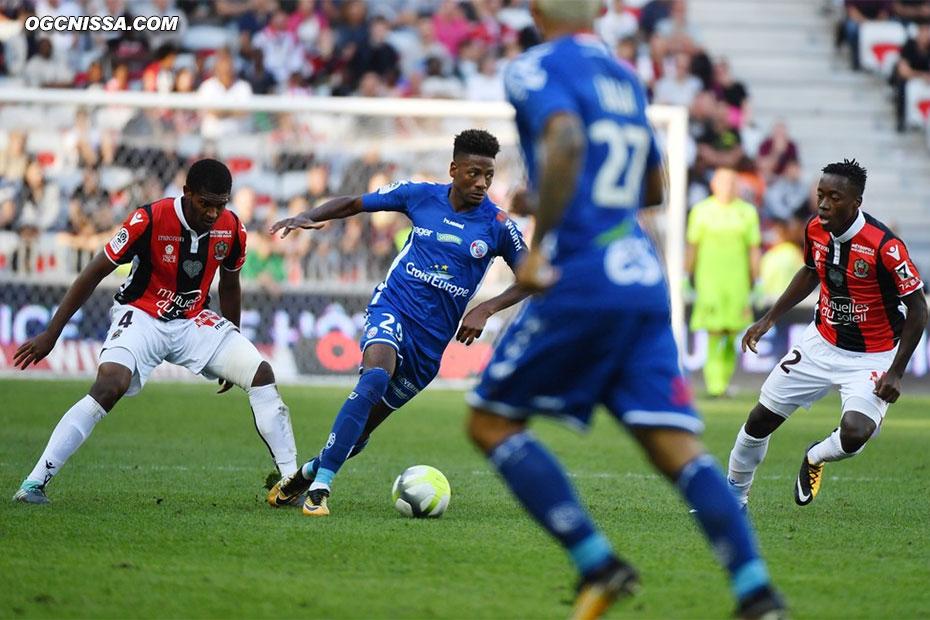 Marlon Santos et Arnaud Lusamba