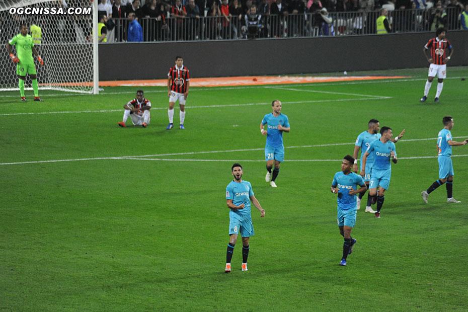 Contre le cours du jeu, Marseille ouvre le score