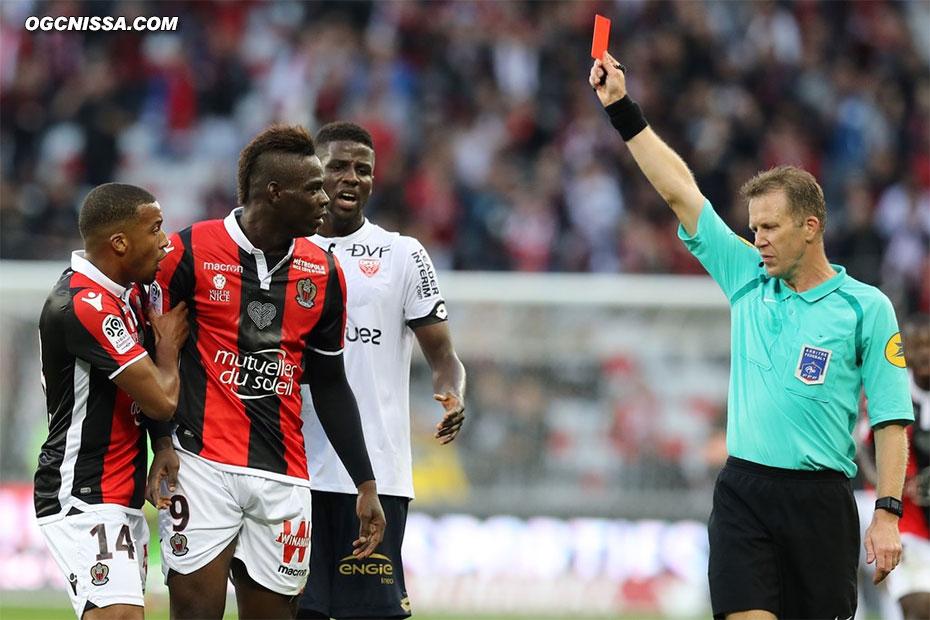 Comme la saison dernière, M. Thual expulse Mario Balotelli
