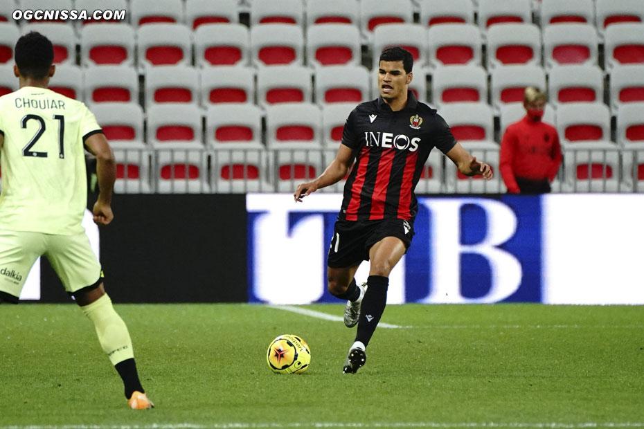 Danilo Barbosa titulaire en défense centrale