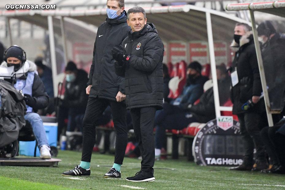 Le nouvel entraîneur Adrian Ursea