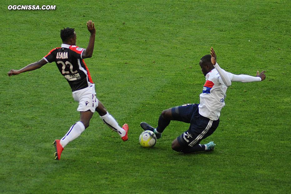 Arnaud Lusamba entré à la pause