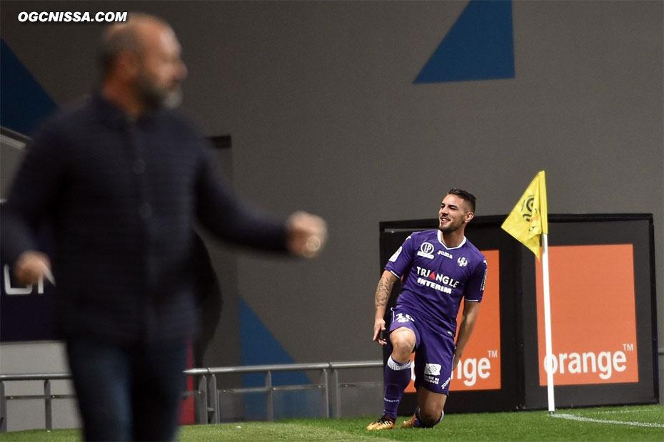 Toulouse ouvre rapidement le score