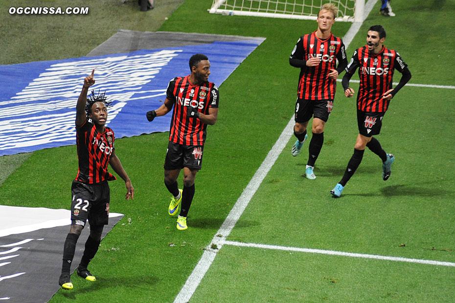 Le premier but d'Arnaud Lusamba cette saison