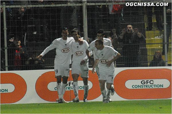 Mais Bordeaux réagit rapidement et revient au score par Micoud
