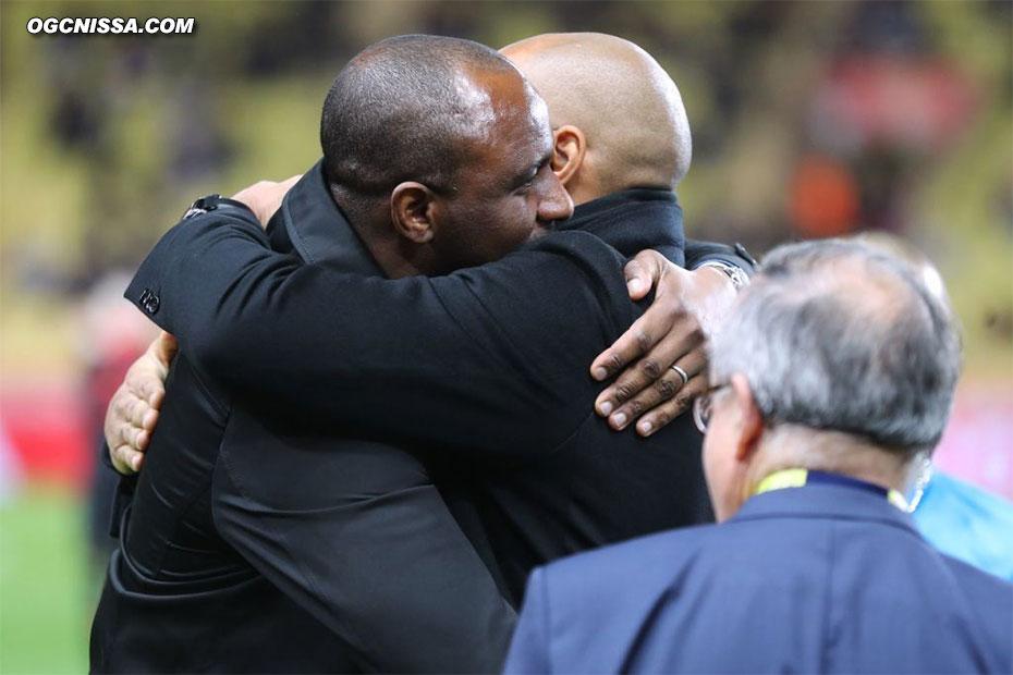 Retrouvailles entre Patrick Vieira et Thierry Henry pour ce Monaco - Nice