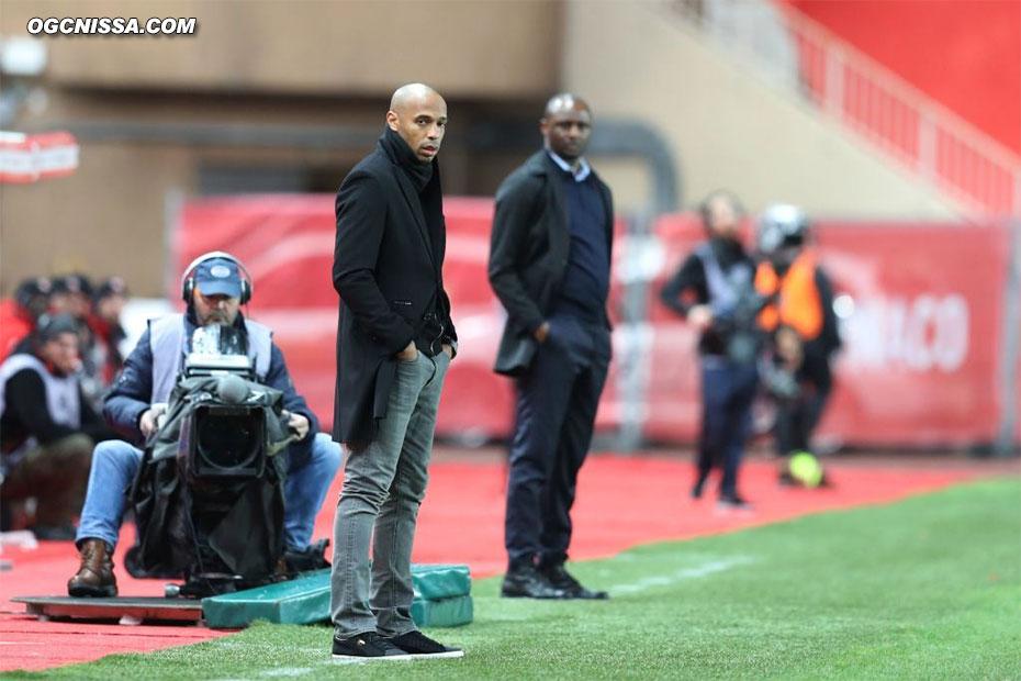 Thierry Henry et Patrick Vieira