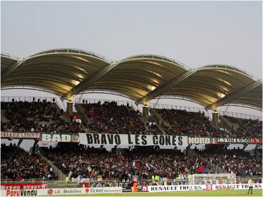 Les supporters lyonnais sont heureux de la qualification européenne de leur équipe