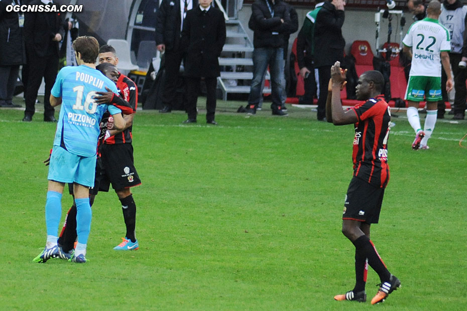 Match nul et vierge pour ce dernier match de l'année à Nice