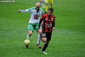 18e journ�e : Nice - St-Etienne