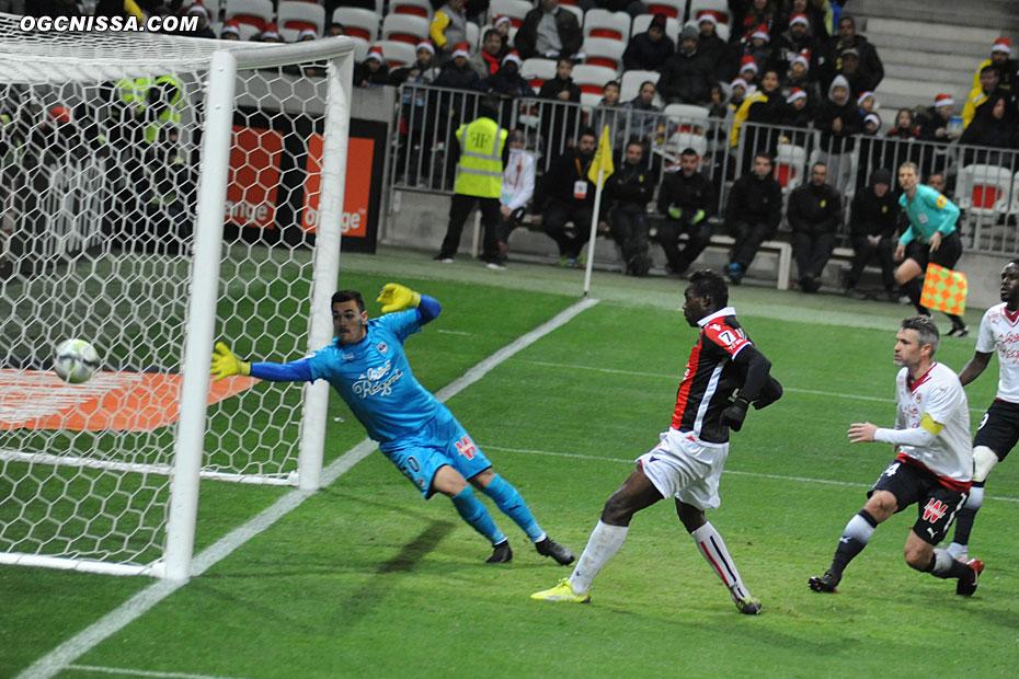 Ouverture du score de Mario Balotelli