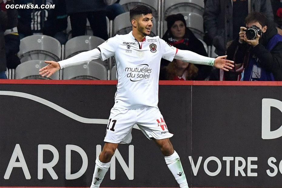 Bassem Srarfi ouvre le score